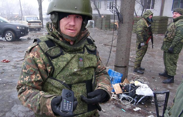 Полевой командир подразделения народного ополчения ДНР