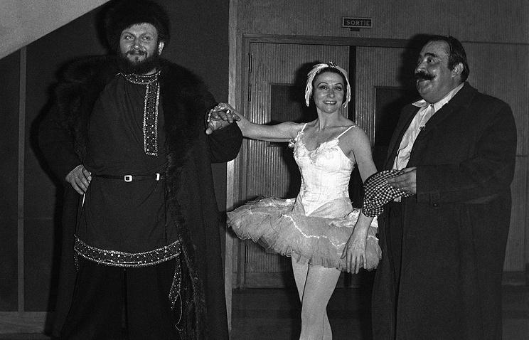 Скончалась французская балерина Иветт Шовире