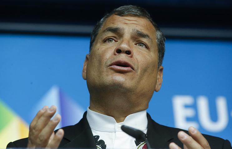 Президент Эквадора сообщил окибератаках направительственные системы