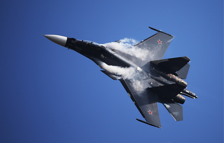 Навооружение полка ЮВО вРостовской области поступили два новых истребителя