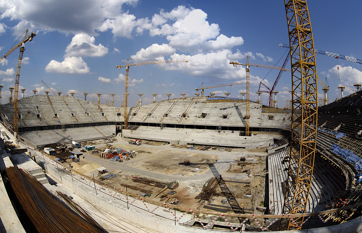 Руководство Российской Федерации скорректировало смету настроительство стадионов кЧМ