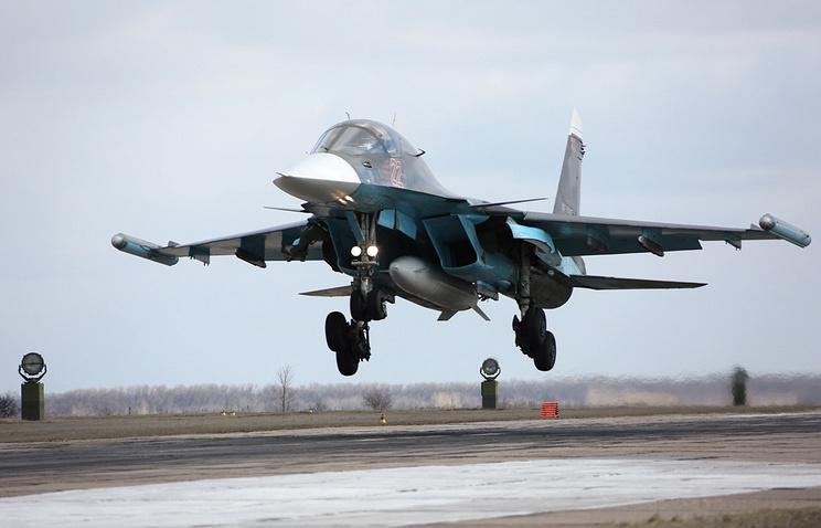 На Российской Федерации сдали вэксплуатацию еще одну партию Су-34