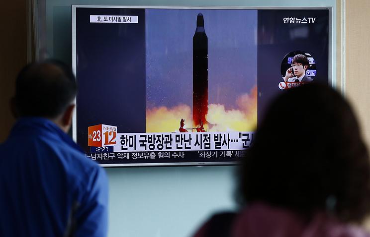 ВКНДР готовится запуск баллистической ракеты «Мусудан»
