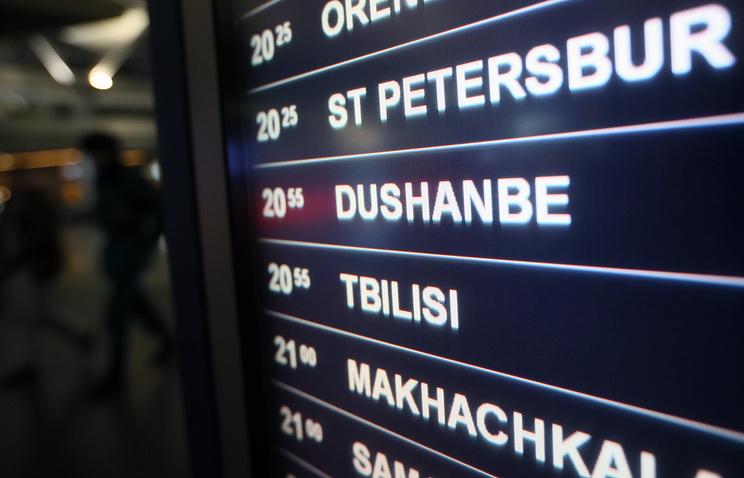 Сегодня в столице России пройдут переговоры поавиасообщению сТаджикистаном