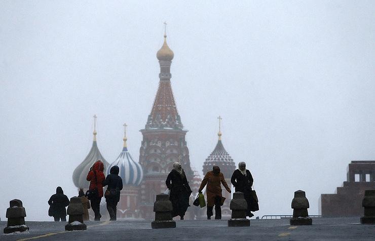 Прошедшая ночь в столице России стала самой холодной сначала осени