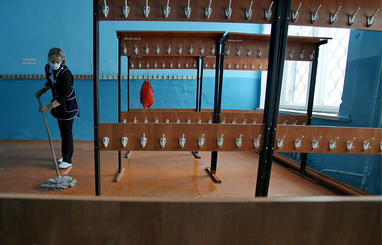 ВЕкатеринбурге из-за кори закрыли накарантин школу итри клиники