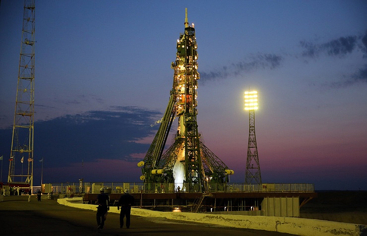 Ракета «Союз-ФГ» готова кустановке наБайконуре