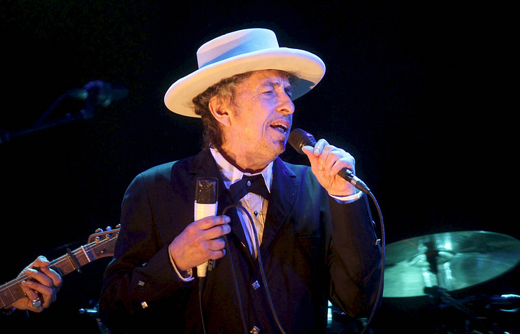Боб Дилан отказался ехать нацеремонию вручения Нобелевской премии