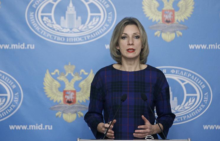 Захарова: Москва отреагирует наинцидент сошвейцарскими истребителями