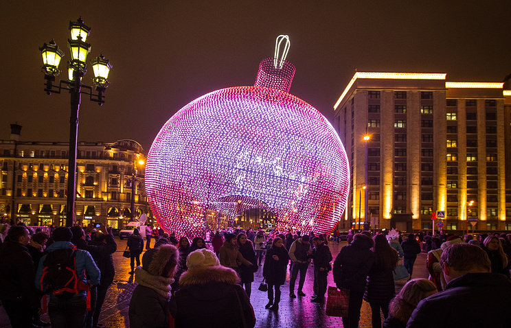 Рождественские фестивали раскроются в столице России 16декабря