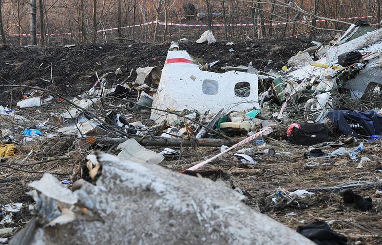 МИД Польши: РФ навязывает выводы окатастрофе Ту-154М