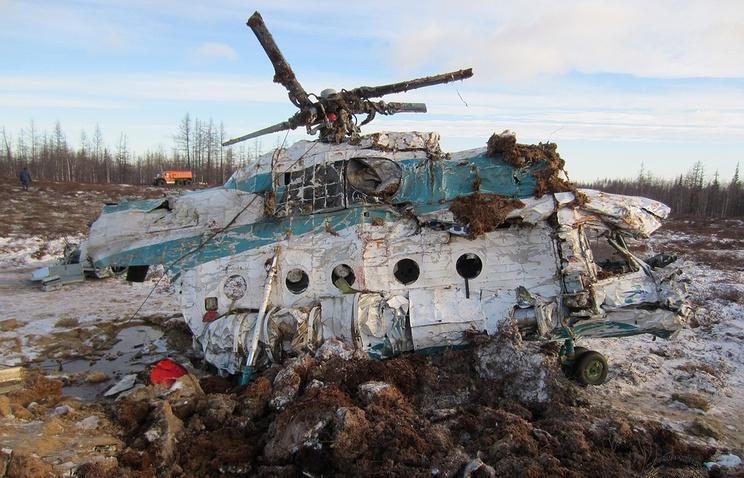 МАК: разбившемуся наЯмале вертолету Ми-8 могло нехватить топлива