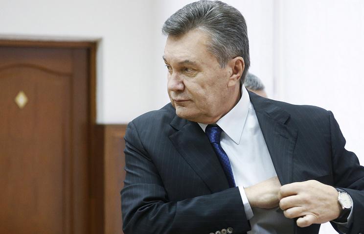 Янукович всуде: Мой кортеж поджидали вооруженные люди «без признаков одежды»