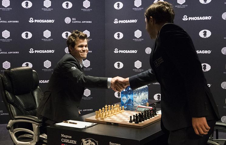 Карякин: Сегодня будет сыграна решающая партия чемпионского матча Карлсен