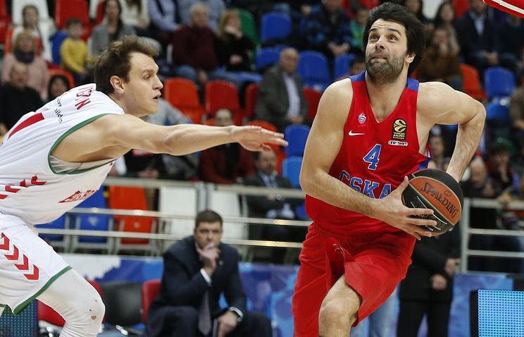 ЦСКА навыезде победил «Бамберг» вматче 10-го тура баскетбольной Евролиги