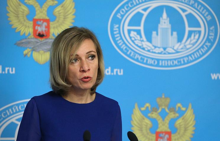 Захарова прокомментировала проблемы столицы «Евровидения-2017»