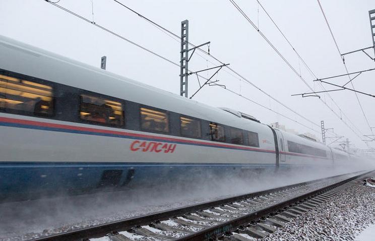 Пассажиропоток «сапсанов» вянваре-ноябре вырос на37%