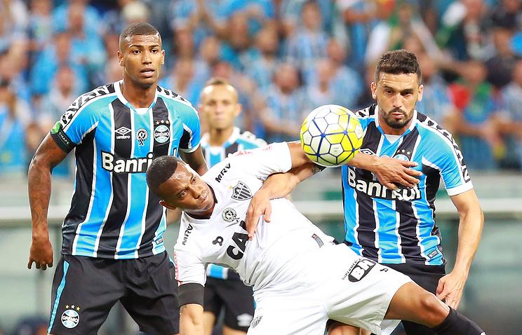 «Гремио» в 5-й раз вистории стал обладателем Кубка Бразилии пофутболу