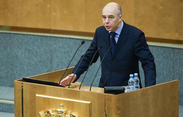 Министр финансов потратит 1 трлн руб. изРезервного фонда вначале зимы