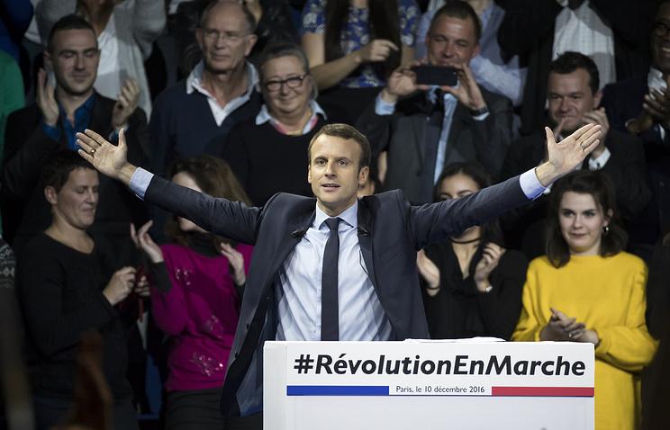 Кандидат впрезиденты Франции Макрон выступил занезависимый разговор сРоссией
