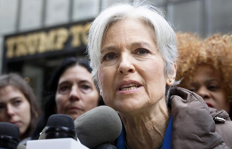 Экс-кандидат впрезиденты США Стайн отказалась отидеи пересчета голосов