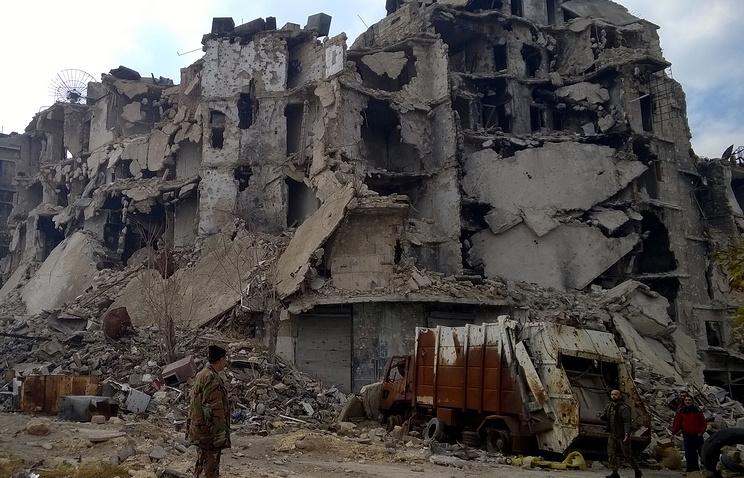 Под контролем боевиков вАлеппо осталось всего 2,5 кв. кмтерритории