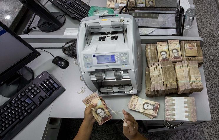 Венесуэла отложила изъятие изобращения банкнот в100 боливаров до 2017-ого года