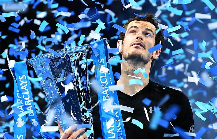 Теннисист Энди Маррей признан спортсменом года в Англии