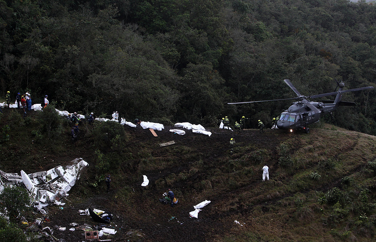 Вкатастрофе самолета сбразильскими футболистами отыскали виновных