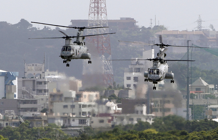 Японский суд дал добро настроительство авиабазы США