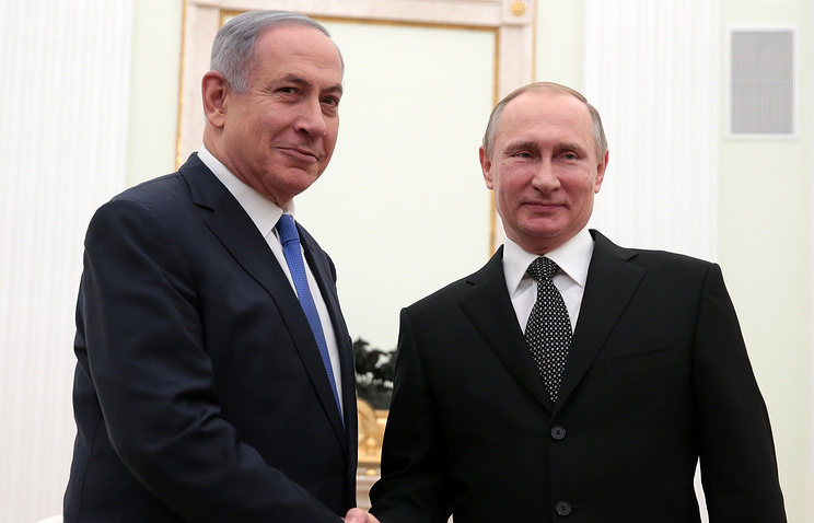 Путин обсудил спремьером Израиля борьбу стерроризмом