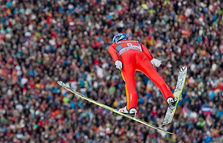 Норвежец Танде одержал победу 2-ой этап «Турне четырех трамплинов», Климов— 18-й