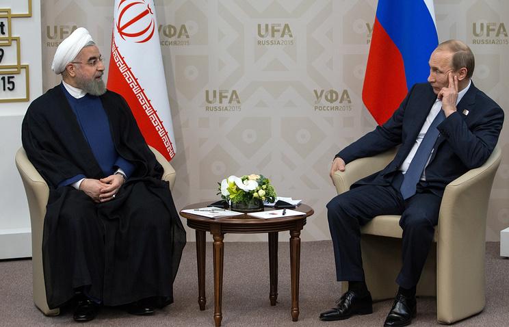 Путин иРоухани обсудили соглашение оперемирии вСирии