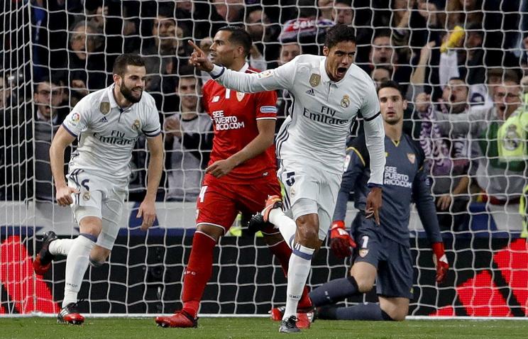 «Реал» разгромил «Севилью»— Кубок Испании