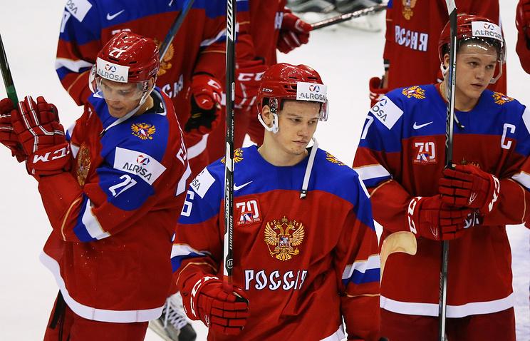 Сборная РФ всерии буллитов проиграла сборной США наМЧМ
