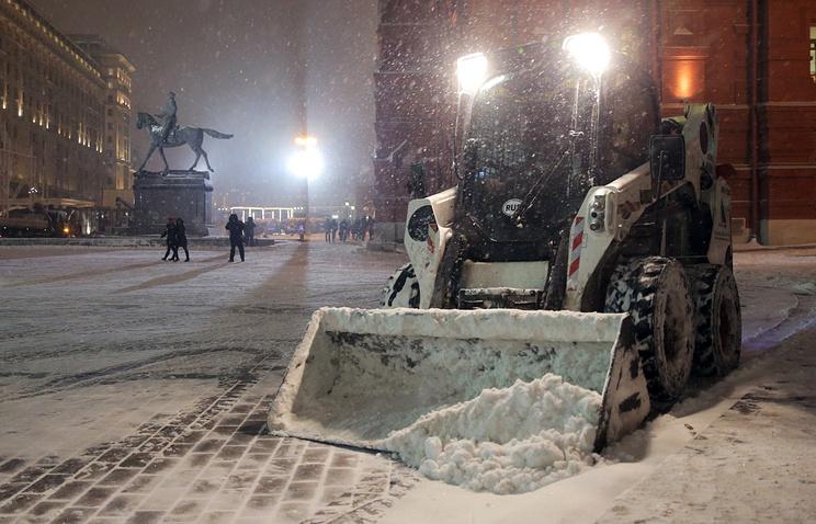 ВЦентральной РФ вближайшие дни ожидаются сильные снегопады