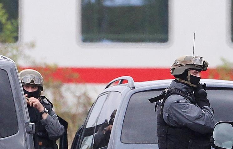 ВЛейпциге проходит масштабная полицейская спецоперация