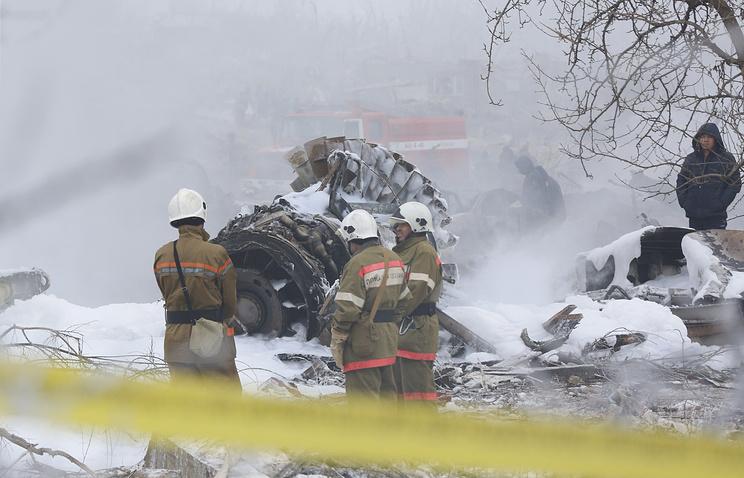 Число погибших крушения самолета под Бишкеком составило 38 человек