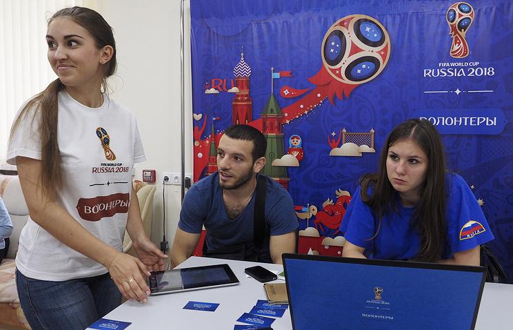ВНижнем Новгороде 5413 человек хотят стать волонтерамиЧМ