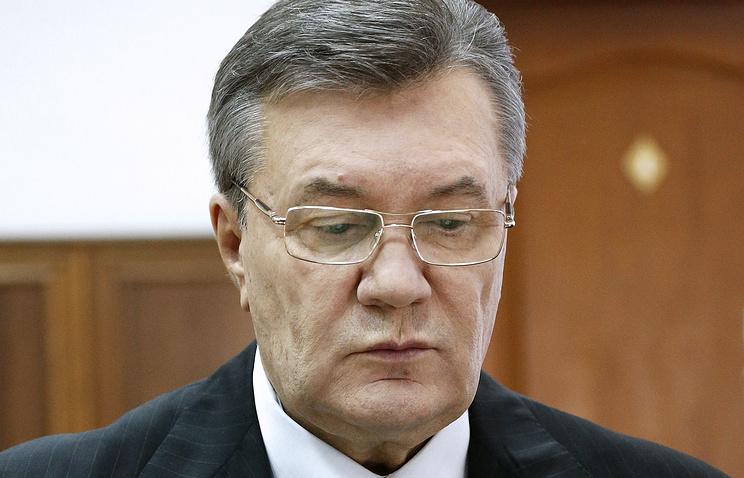 Киевский суд позволил заочное расследование поделу огосизмене Виктора Януковича