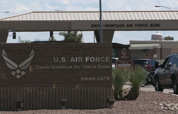 Навоенной базе вАризоне объявили тревогу из-за стрельбы
