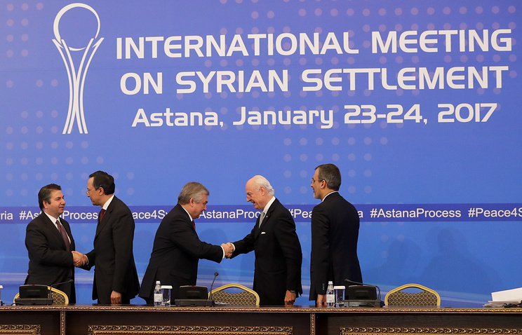 Уполномоченный РФ рассказал об результатах первого дня межсирийских переговоров