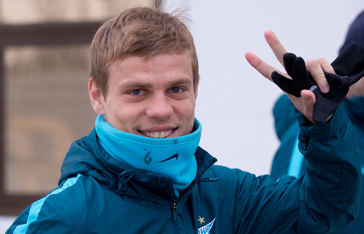 Дубль Кокорина помог «Зениту» обыграть «Легию» вконтрольном матче