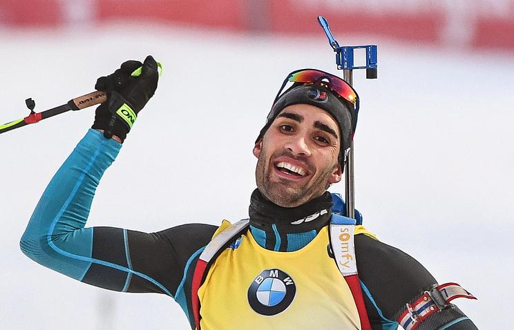 Биатлонист Фуркад язвительно прокомментировал поздравление СБР