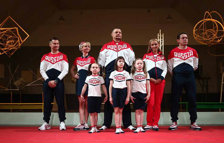 Кто сейчас будет шить форму олимпийской сборной РФ вархив