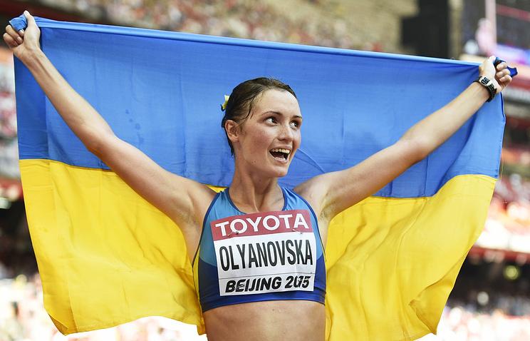 Украинская легкоатлетка дисквалифицирована на 4 года задопинг