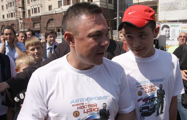 Константин Цзю и его сын Тим © ИТАР-ТАСС/ Игорь Кубединов, архив