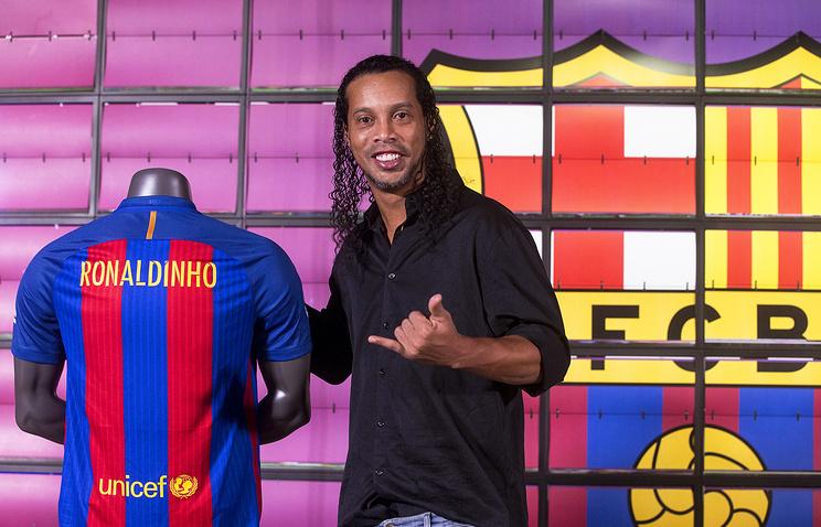 Роналдиньо стал послом «Барселоны»