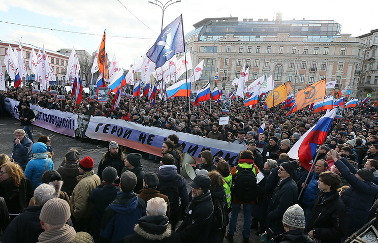 Вмэрию столицы передана претензия намарш памяти Бориса Немцова