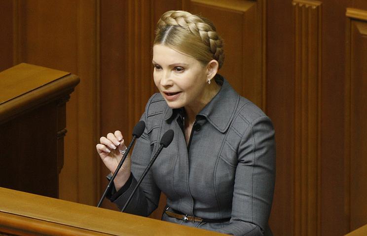 Тимошенко решила подать всуд наПорошенко, Гройсмана иПарубия